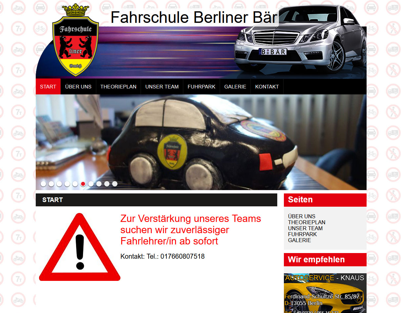 Fahrschule Berliner Bär GmbH